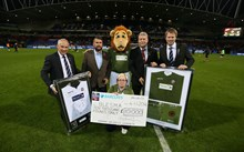 Bolton Wanderers Football Club raise £10,000 for Blesma from limited edition shirt sales