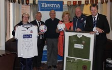 Bolton Wanderers FC visit limbless veterans' care home