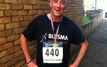 Truck driver Mark will run the Virgin London Marathon for Blesma