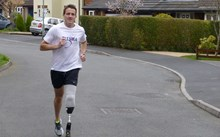 Steve - War amputee and full-time dad will run the Virgin London Marathon
