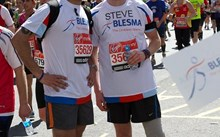 War amputee and fellow serviceman raise almost £4000 at the Virgin London Marathon