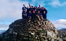 3 Peaks Team joined by amputee veteran raise over £13,000 for Blesma