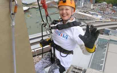 Abseil the Spinnaker Tower