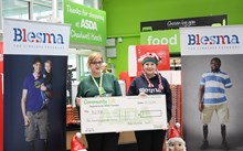 Asda Chadwell Heath makes donation to local military charity