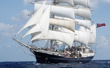 Wounded veterans crew adapted tall ship to Jersey