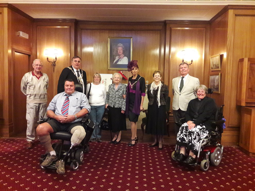 Portsmouth Members at the Lord Mayor's Chambers in Portsmouth 14.10.2019.jpg